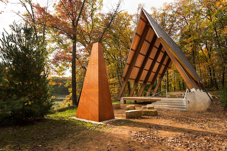 Lebanon Hills Regional Park A-Frame Picnic Shelter
