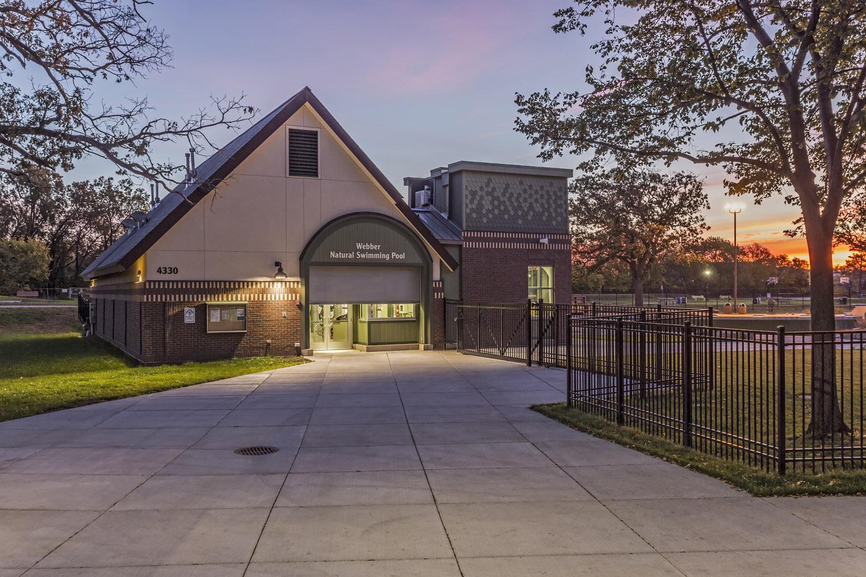 Webber Park Pool Building